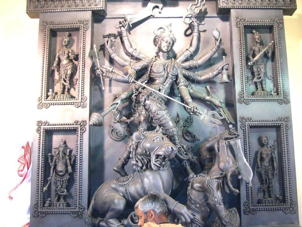 Durga als Mahishasura-mardini; Künstler/Artist: undbekannt/unknown