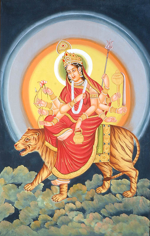 Ma Chandraghanta; Künstler/Artist: unbekannt/unknown