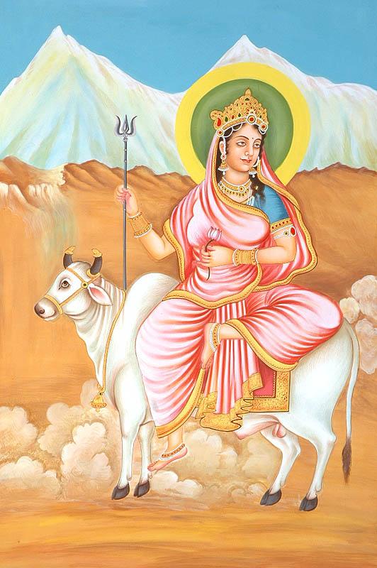 Ma Shailaputri; Künstler/Artist: unbekannt/unknown;