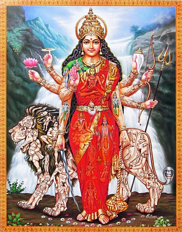 Adi-Parashakti; Künstler/Artist: unbekannt.