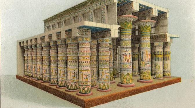 Vom Wesen ägyptischer Tempel (Teil 3) von Merienptah